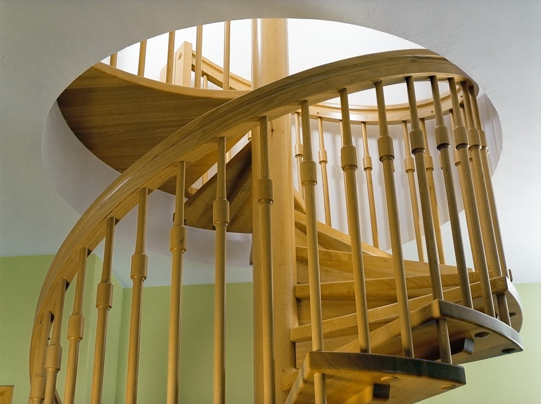 traditionelle-spindeltreppe